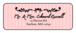 Madison Avenue Address Labels