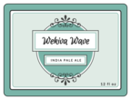 Wekiva Wave Beer Bottle Labels