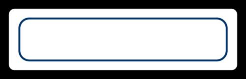 Color Coded File Folder Labels (Round Corner Rectangle)