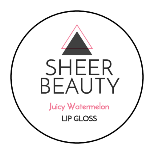 Modern Lip Gloss Labels (Circle)