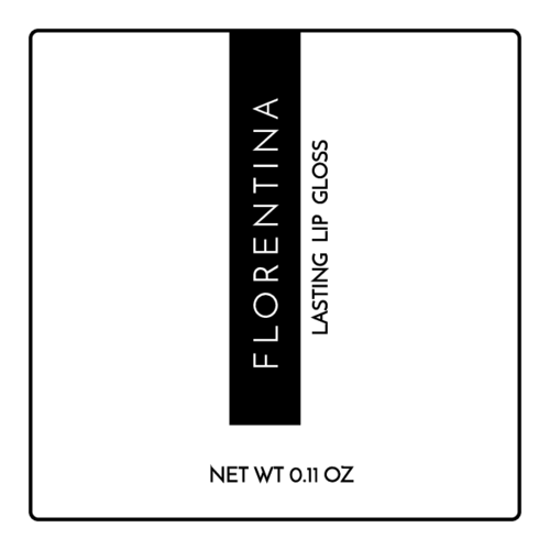 "OL2679 - 2"" x 2"" Square - High Fashion Lip Gloss Labels"