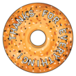 Everything Bagel Thank You Favor Labels
