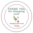Thank You For Shopping Small Labels