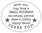 Small Business Thank You Labels