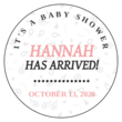 """It's a Baby Shower"" Favor Labels"