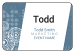Urban Event Name Tag Labels