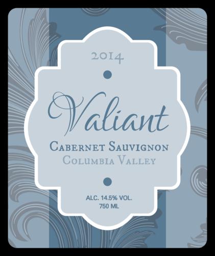 Classical Vintage Wine Bottle Labels (Round Corner Rectangle)