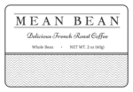 """Mean Bean"" Coffee Bag Labels"