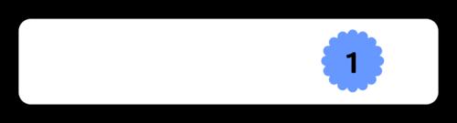"""OL173 - 3"""" x 0.625"""" - Numerical Classroom Organization Pencil Flag Labels"""