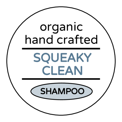 "OL5375 - 2"" Circle - ""Squeaky Clean"" Shampoo Bottle Labels"