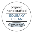 """Squeaky Clean"" Shampoo Bottle Labels"