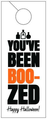 You've Been Boozed Halloween Gift (Custom)