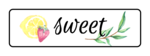 """Sweet"" Ultimate Lemonade Stand Labels"
