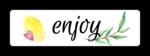"""""""Enjoy"""" Ultimate Lemonade Stand Labels"""