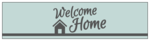 """Welcome Home"" Water Bottle Labels"