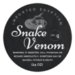 """Snake Venom"" Decorative Halloween Apothecary Labels"