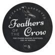 """Feathers of the Crow"" Decorative Halloween Apothecary Labels"