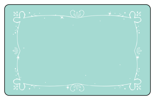 Write-in Holiday Labels (Round Corner Rectangle)