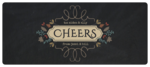 """Cheers!"" Fall Food Gift Wrap-Around Labels"