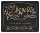 """Bon Appetit"" Fall Food Gift Labels"