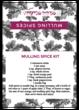 Mulled Wine Fold-Over Bag Labels