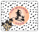 """The Witching Hour"" Festive Halloween Wine Bottle Labels"