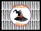 """Witch\'s Brew"" Festive Halloween Bottle Labels"