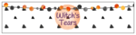"""""""Witch\'s Tears"""" Festive Halloween Water Bottle Labels"""
