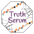 """Truth Serum"" Festive Halloween Labels"
