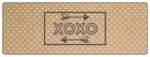 """XOXO"" Valentine's Day Wrap-Around Labels"