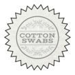 """Cotton Swabs"" Star Burst Bath Product Labels"