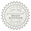 """""""Geranium Oil Body Butter"""" Star Burst Bath Product Labels"""