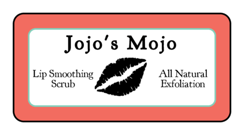Exfoliating Lip Scrub Labels (Round Corner Rectangle)