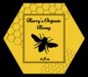 Honeycomb Honey Jar Labels