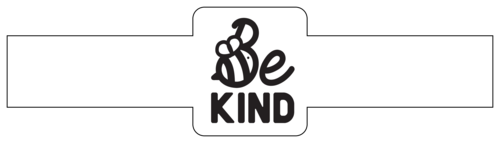 "OL1030 - 8.5"" x 2.25"" - ""Be Kind"" Bee Soap Labels"