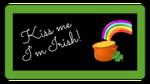 """""""Kiss Me I'm Irish!"""" St. Patty's Day Labels"""