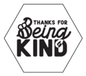 """Thanks For Being Kind"" Soap Labels"