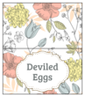 Floral Easter Tent Card