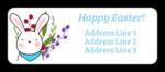 Cute Little Bunny Address Label