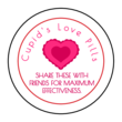 Cupid's Love Candy Valentine's Day Favor Labels