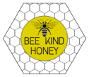 Hexagon Beehive Honey Jar Label