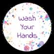 """Kids """"Wash Your Hands"""" Sticker"""