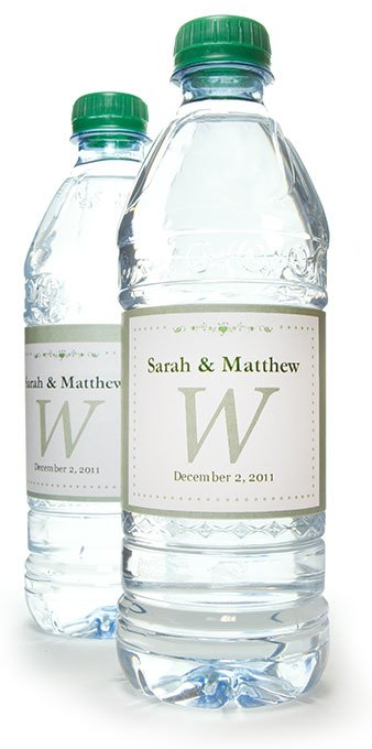 Water bottle labels personalized water bottle labels for How to put labels on water bottles