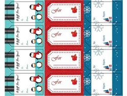 Holiday Gift Tag - To From Labels