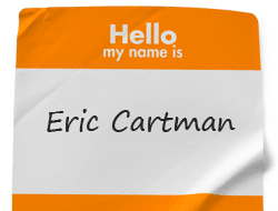 Cheap Name Badge Labels