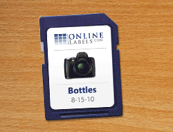 SD Card Labels