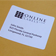 Matte White Adhesive labels for Shipping