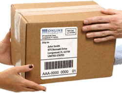 Shipping with UPS Labels