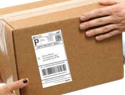Paypal Shipping Label