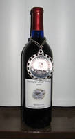 C & Js Blueberry Vineyard Wine Bottle Label